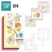 Stitch and Do 74 - Vlinders en Bloemen
