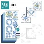 Stitch and Do 80 Vintage bloemen