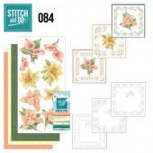 Stitch and Do 84 Yellow Flowers