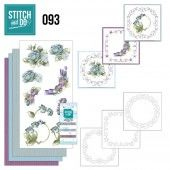 Stitch and Do 93 - Winterflowers
