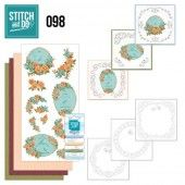 Stitch and Do 98 - Floral Birdcages