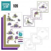 Stitch and Do 109 - Summer Dahlia's