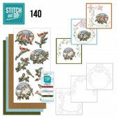 Stitch and Do 140 - Amy Design - Nostalgic Christmas - Christmas Birds Omschrijving
