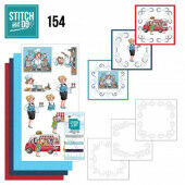 Stitch and Do 154 - Yvonne Creations - Bubbly Girls - Professions