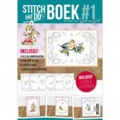Stitch and Do A6 Boek 1 (STDOBB001)