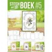 Stitch and Do A6 Boek 5 Flowers (STDOBB005)