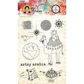 Studio Light Art By Marlene Clear Stamp Artsy Arabia nr.60 STAMPBM60 148x210mm (09-20)*