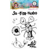 Studio Light By Marlene Clear Stamp So-Fish-Ticated nr.10 ABM-SFT-STAMP10 A5 (05-21)