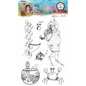 Studio Light By Marlene Clear Stamp So-Fish-Ticated nr.11 ABM-SFT-STAMP11 A5 (05-21)