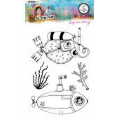 Studio Light By Marlene Clear Stamp So-Fish-Ticated nr.12 ABM-SFT-STAMP12 A5 (05-21)*