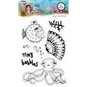 Studio Light By Marlene Clear Stamp So-Fish-Ticated nr.13 ABM-SFT-STAMP13 A5 (05-21)