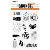Studio light Clear Stamp Grunge Collection 3.0 nr 408 210x148mm (09-19) (STAMPSL408)