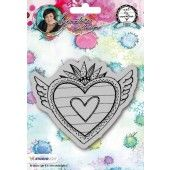 Studio Light Cling Stamp Hearts Art By Marlene 2.0 nr.24 (STAMPBM24)*