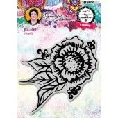 Studio Light Cling Stamp Painterly Flower Art By Marlene 3.0 nr.32 STAMPBM32 (04-19)
