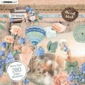 Studio Light Die Cut Book 15x15 Summer Breeze no.661 EASYSUB661 (04-20)#