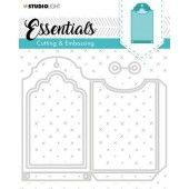 Studio Light Embossing Die Cut Essentials no.274 STENCILSL274 (04-20)*
