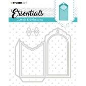 Studio Light Embossing Die Cut Essentials no.275 STENCILSL275 (04-20)*