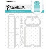 Studio Light Embossing Die Cut Essentials no.276 STENCILSL276 (04-20)*