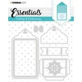 Studio Light Embossing Die Cut Essentials no.277 STENCILSL277 (04-20)*