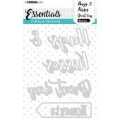 Studio Light Embossing Die Cut Essentials nr.282 STENCILSL282 (05-20)*