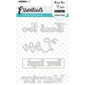 Studio Light Embossing Die Cut Essentials nr.283 STENCILSL283 (05-20)*