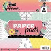 Studio Light Paper Pad 36 vel Create Happiness nr 111 - 15x15cm (PPCR111)*