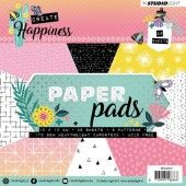 Studio Light Paper Pad 36 vel Create Happiness nr 112 - 15x15cm (PPCR112)*