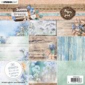 Studio Light paper Pad Summer Breeze no.145 PPSUB145 15x15 cm (04-20)#