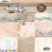 Studio Light paper Pad Summer Breeze no.146 PPSUB146 15x15 cm (04-20)#