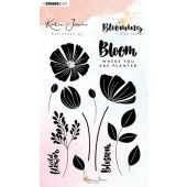 Studio Light Stamp A6 Karin Joan Blooming Collection nr.01 STAMPKJ01 (01-20)*