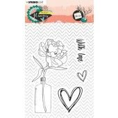 Studio Light Stamp A6 Sweet Flowers nr.436 STAMPSFL436 (03-20)*