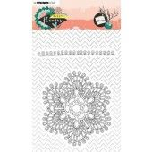 Studio Light Stamp A6 Sweet Flowers nr.438 STAMPSFL438 (03-20)*