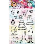 Studio Light Stamp Girl Boss Art By Marlene 3.0 nr.36 STAMPBM36 (04-19)
