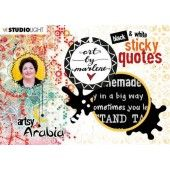 Studio Light Sticker Art By Marlene Quotes Artsy Arabia nr.03 STICKERBM03 (09-20)*