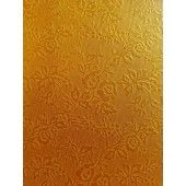 Tonic Studios embossed karton - honey gold roses 5vl A4 230GR (9829E)*
