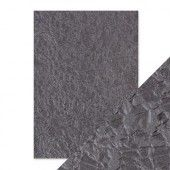 Tonic Studios embossed papier - crushed metal Handmade (9804E)*