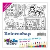 Color Cards 1 - Beterschap - Yvonne Creations