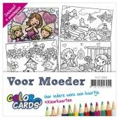 Color Cards 2 - Voor Moeder - Yvonne Creations