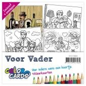 Color Cards 3 - Voor Vader - Yvonne Creations