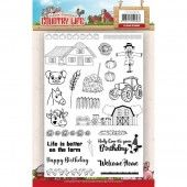 Clearstamp - Yvonne Creations - Country Life