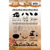 Clearstamp - Yvonne Creations - Fabulous Fall