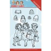 Clearstamp - Yvonne Creations - Bubbly Girls -  Gone Shopping