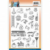 Clear Stamps - Yvonne Creations - Big Guys Professions