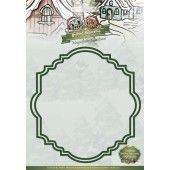 Die - Yvonne Creations - Magnificent Christmas - Frame