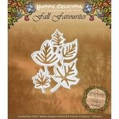 Die - Yvonne Creations - Fall Favourites - Leaves