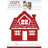 Die - Yvonne Creations - Cozy Christmas - Gingerbread House