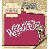 Die - Yvonne Creations - Traditional Christmas - Frohe Weihnachten