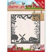 Die - Yvonne Creations - Country Life Country - Life Frame