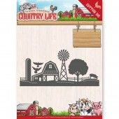 Die - Yvonne Creations - Country Life Country - Border