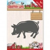 Die - Yvonne Creations - Country Life Country - Pig